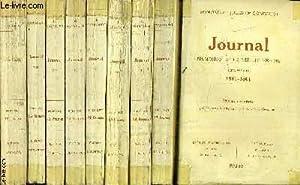 JOURNAL MEMOIRES DE LA VIE LITTERAIRE - EN 9 TOMES - TOME 1 : 1851 - 1861 - TOME 2 : 1862-1865 - ...