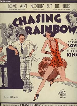 CHASING RAINBOWS : LOVE AIN'T NOTHIN' BUT THE BLUES - PIANO + VOICE.: ALTER LOUIS