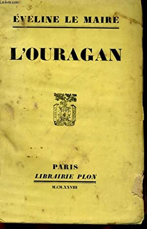 L'OURAGAN: LE MAIRE Eveline