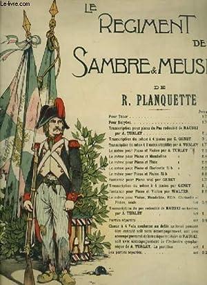 LE REGIMENT DE SAMBRE ET MEUSE -: PLANQUETTE R.
