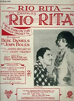 RIO RITA - PIANO + VOICE.: TIERNEY HARRY / MAC CARTHY Joseph