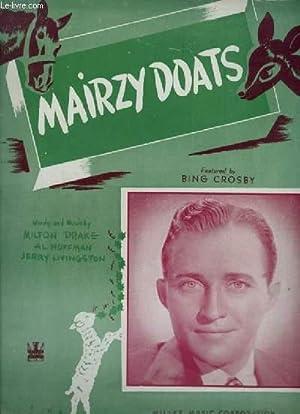 MAIRZY DOATS - PIANO VOICE.: LIVINGSTON JERRY / HOFFMAN AL / DRAKE MILTON
