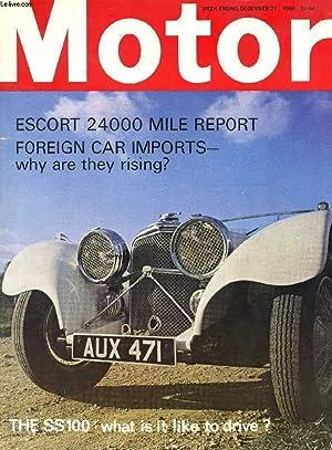 MOTOR, N° 3523, DEC. 27, 1969 (Contents: COLLECTIF