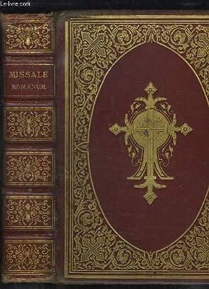 Missale Romanum, ex decreto sacrosancti concilii tridentini: D.N. BENEDICTI XV