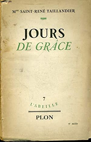 JOURS DE GRACE: SAINT-RENE TAILLANDIER Mme
