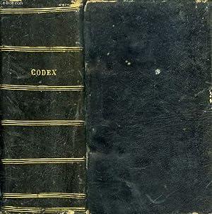 CODEX IURIS CANONICI, PII X PONTIFICIS MAXIMI, IUSSU DIGESTUS BENEDICTI PAPAE XV, AUTORITATE ...