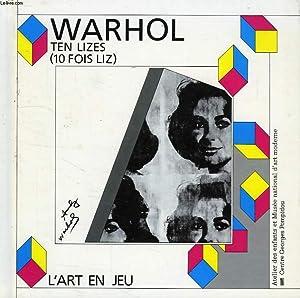 ANDY WARHOL, TEN LIZES: GUERIN-FERMIGIER FRANETTE, NICOLAS