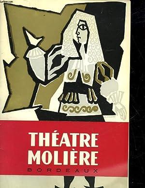 THEATRE MOLIERE BORDEAUX - PROGRAMME OFFICIEL: COLLECTIF