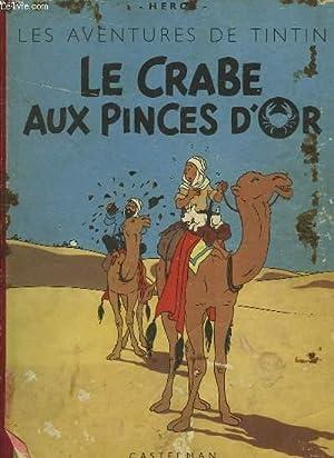 LE CRABE AUX PINCES D'OR: HERGE