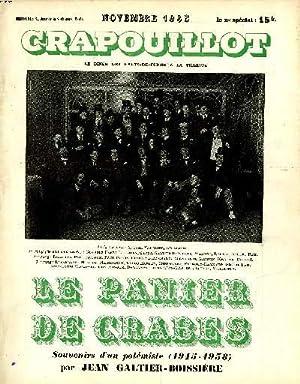 LE CRAPOUILLOT. LE PANIER DE CRABES.: Collectif