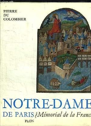 Notre-Dame de Paris. Mémorial de la France: DU COLOMBIER Pierre