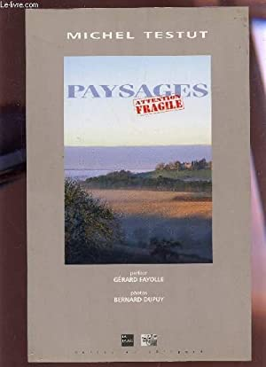 PAYSAGES - ATTENTION FRAGILE.: TESTUT MICHEL