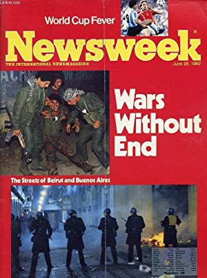 NEWSWEEK, JUNE 28, 1982 (Contents: Victories without peace (Buenos Aires, Beirut). China's ...
