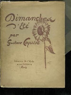 Dimanches d'été: COQUIOT Gustave