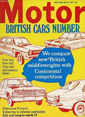 MOTOR, N° 3593, MAY 15, 1971 (Contents: COLLECTIF
