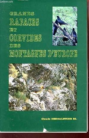 GRANDS RAPACES ET CORVIDES DES MONTAGNES D'EUROPE / ACTA BIOLOGICA MONTANA - N°8 (...