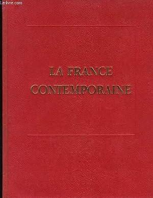LA FRANCE CONTEMPORAINE- LES 4 VOLUMES: COLLECTIF