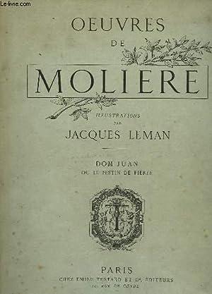 OEUVRES DE MOLIERE - DOM JUAN OU: MOLIERE