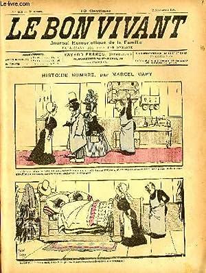 Le bon vivant n°103 - Histoire sombre: MARCEL CAPY