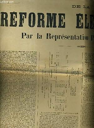 CONTRIBUTION A L'ETUDE DE LA REFORME ELECTORALE.: COLLECTIF