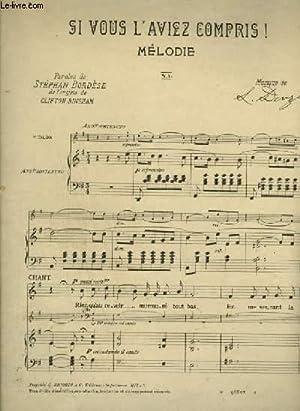 SI VOUS L'AVIEZ COMPRIS ! - PIANO / VIOLON / CHANT + VIOLONCELLE + VIOLON.: DENZA L.