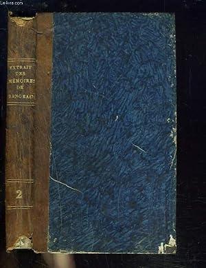 EXTRAIT DES MEMOIRES DU MARQUI DE DANGEAU, contenant beaucoup d'anecdotes sur Louis XIV et sa ...