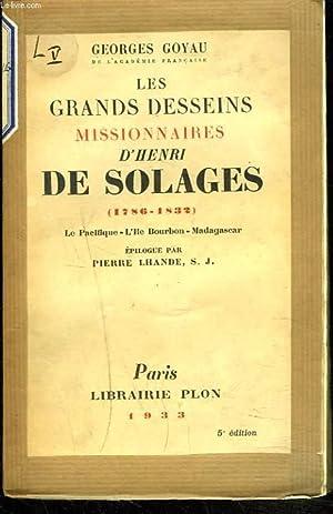 LES GRANDS DESSEINS MISSIONNAIRES D'HENRI DE SOLAGES (1786-1832). Le Pacifique-L'î...