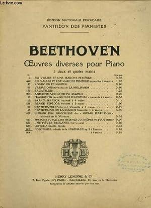 POLONAISE - SERENADE POUR PIANO OP.8.: BEETHOVEN