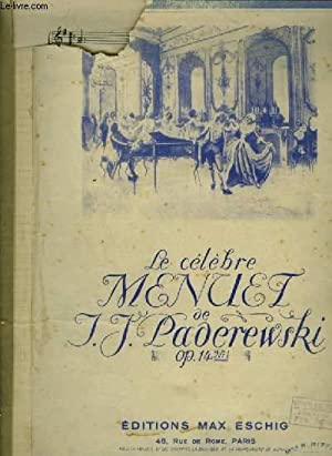 MENUET - PIANO.: PADEREWSKI I.J.