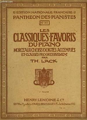 OEUVRES CHOISIES - VOLUME 4 : La: LACK THEODORE