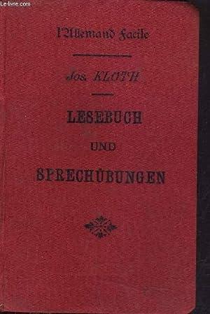 L'ALLEMAND FACILE - LESEBUCH UND SPRECHUBUNGEN -: J.KLOTH