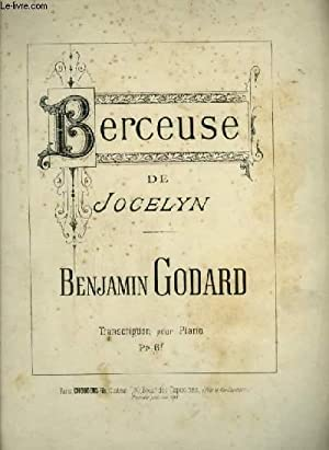 BERCEUSE DE JOCELYN - POUR PIANO.: GODARD BENJAMIN
