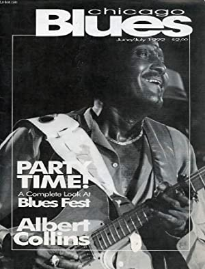 CHICAGO BLUES MAGAZINE, VOL. 1, N° 1, JUNE-JULY 1992: COLLECTIF