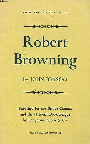 ROBERT BROWNING: BRYSON JOHN