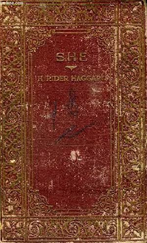 SHE, A HISTIRY OF ADVENTURE: HAGGARD H. RIDER