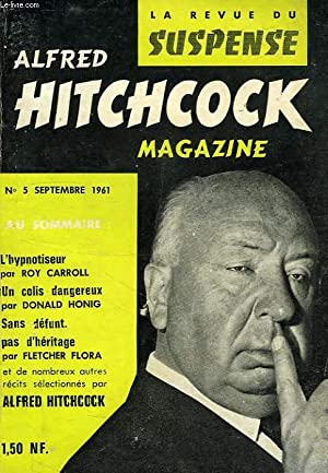 ALFRED HITCHCOCK MAGAZINE, LA REVUE DU SUSPENSE, 1re ANNEE, N° 5, SEPT. 1961: COLLECTIF