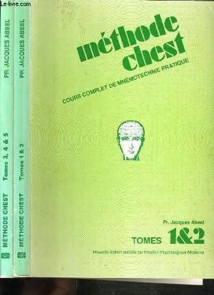 MEHODE CHEST - COURS COMPLET DE MNEMOTECHNIE: ABEEL JACQUES PR.