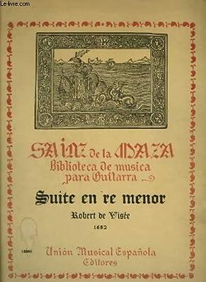 SUITE EN RE MENOR : PRELUDIO +: DE VISEE ROBERT