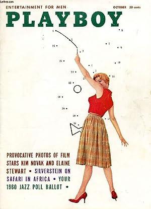 PLAYBOY, VOL. 6, N° 10, OCT. 1959, ENTERTAINMENT FOR MEN (Contents: PLAYBILL. DEAR PLAYBOY. ...