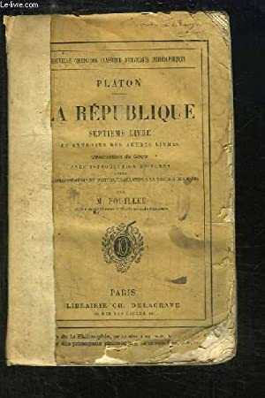La République. 7ème Livre et extraits des autres livres.: PLATON