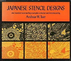 JAPANESE STENCIL DESIGNS: TUER ANDREW W.