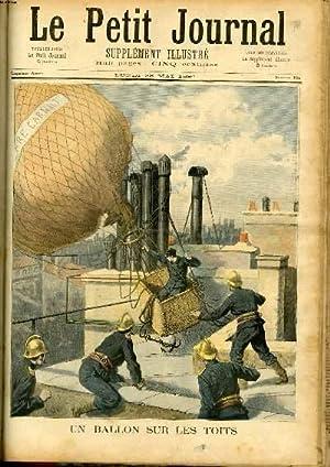 LE PETIT JOURNAL - supplément illustré numéro 184 - UN BALLON SUR LES TOITS - ...
