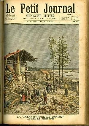 LE PETIT JOURNAL - supplément illustré numéro 234 - LA CATASTROPHE DE BOUZEY, ...