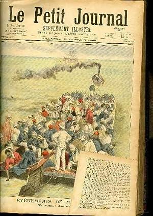 LE PETIT JOURNAL - supplément illustré numéro 271 - EVENEMENTS DE MADAGASCAR: TRANSPORT DES ...