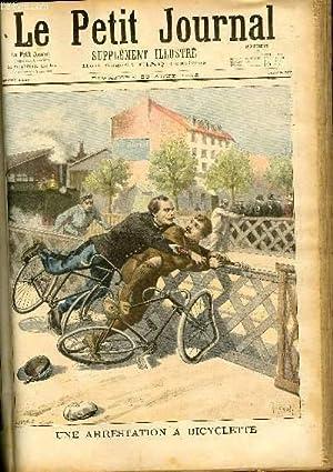 LE PETIT JOURNAL - supplément illustré numéro 302 - UNE ARRESTATION A BICYCLETTE - LES HEROINES DE ...