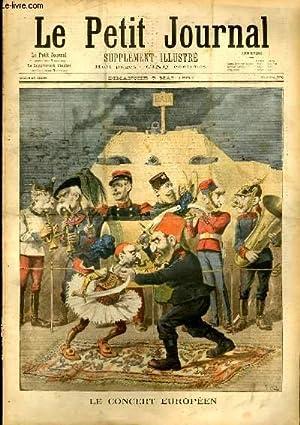 LE PETIT JOURNAL - supplément illustré numéro 338 - LE CONCERT EUROPEEN - M. ...