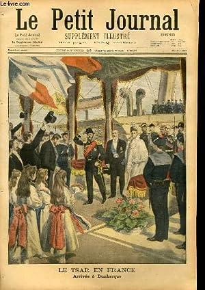 LE PETIT JOURNAL - supplément illustré numéro 567 - LE TSAR EN FRANCE: ARRIVEE...