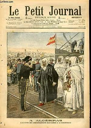 LE PETIT JOURNAL - supplément illustré numéro 792 - A ALGESIRAS: L'...