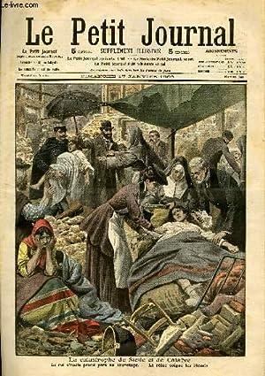 LE PETIT JOURNAL - supplément illustré numéro 948 - LA CATASTROPHE DE SICILE ...