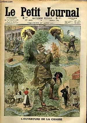 LE PETIT JOURNAL - supplément illustré numéro 1084 - L'OUVERTURE DE LA ...